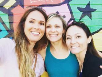 Gina, Melissa, and Kathy