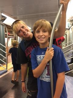 Micah and Jane Subway